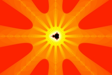 mandelbrot fractal image named Moose Sunburst