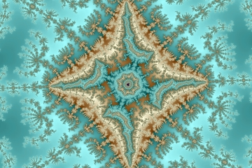 mandelbrot fractal image named north star