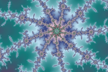 mandelbrot fractal image named octogerm