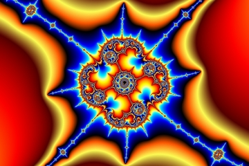 mandelbrot fractal image named one-around