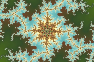 mandelbrot fractal image named peril rose