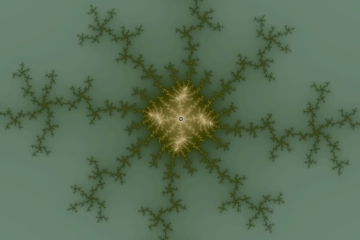 mandelbrot fractal image named pillow