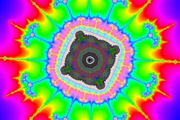 mandelbrot fractal image named polygonace