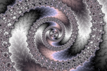 mandelbrot fractal image named purple destiny