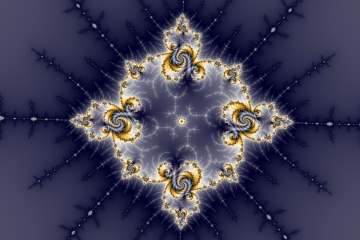 mandelbrot fractal image named rock star