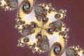 Mandelbrot fractal image royal wheel