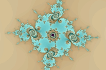 mandelbrot fractal image named Sand and water I