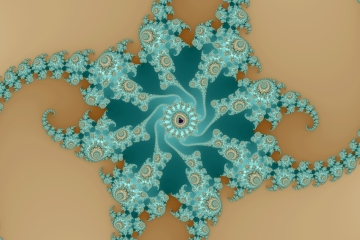 mandelbrot fractal image named Sand and water II