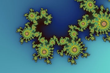mandelbrot fractal image named sea creature