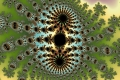 Mandelbrot fractal image sea of links