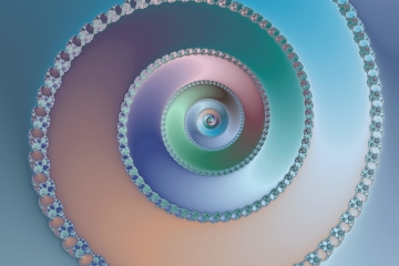 mandelbrot fractal image named Sea shell