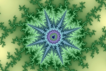 mandelbrot fractal image named seastar