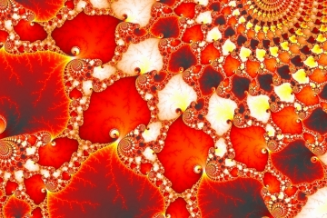 mandelbrot fractal image named Shivas Necklace