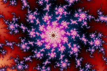 mandelbrot fractal image named space  storm