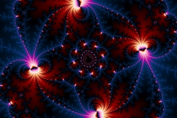 mandelbrot fractal image named Space Base D5