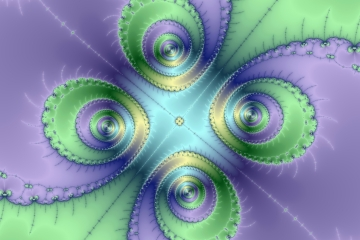 mandelbrot fractal image named square dance