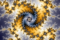 Mandelbrot fractal image Starry Night