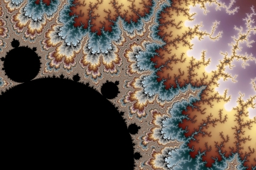 mandelbrot fractal image named Static Frizz