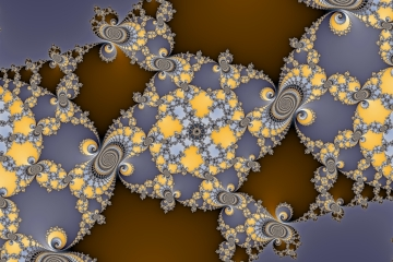mandelbrot fractal image named tech star