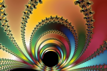 mandelbrot fractal image named the core