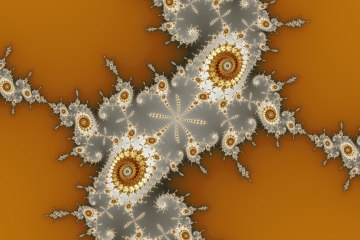 mandelbrot fractal image named The Lost Sands