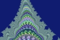 Mandelbrot fractal image The mountain