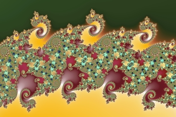 mandelbrot fractal image named Three and four