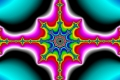 mandelbrot fractal image top dead center