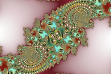 mandelbrot fractal image named Tower of Pisa
