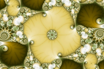 mandelbrot fractal image named Underflower