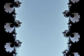 mandelbrot fractal image named Waterfall