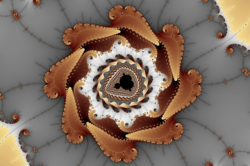 mandelbrot fractal image named wheel of rest