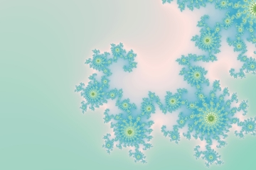 mandelbrot fractal image named Winter