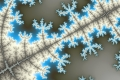 Mandelbrot fractal image Winter Branch