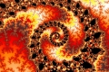 mandelbrot fractal image withered paint